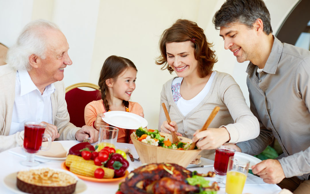 Do you eat dinner with your family?