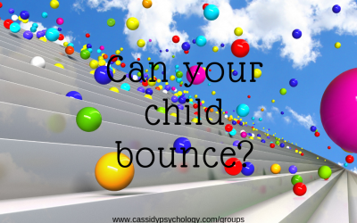 Can your child bounce back?