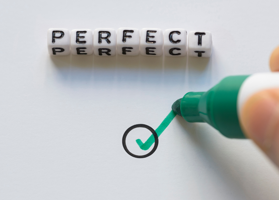 Self Help for Perfectionism